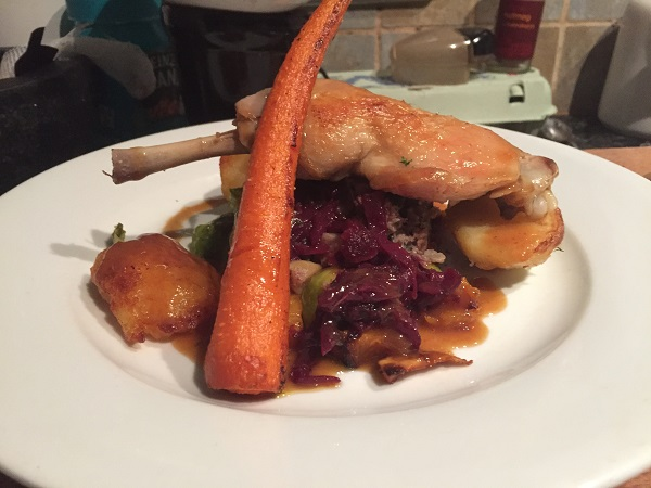 Dinewithi Sunday Lunch Club - Confit Chicken