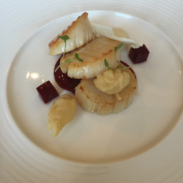 Celtic Manor - Scallops