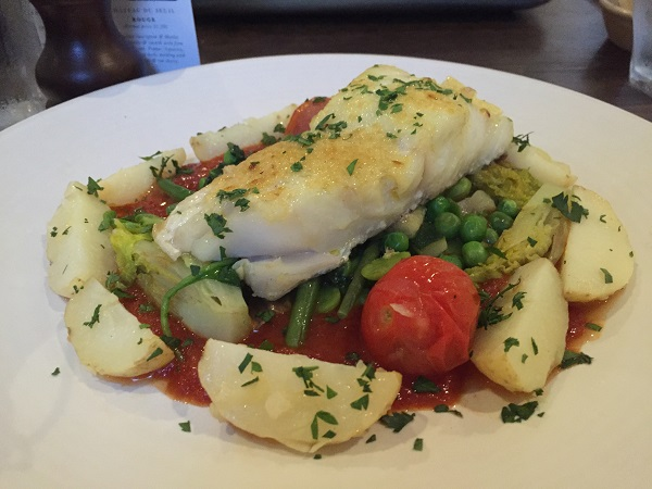Brasserie Blanc Cabot Circus - Grilled Cod