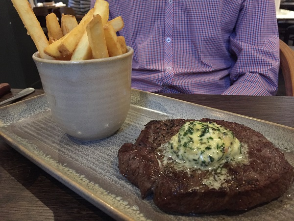 Brasserie Blanc Cabot Circus - Le Grand Steak