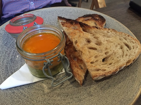 Brasserie Blanc Cabot Circus - Potted Crab