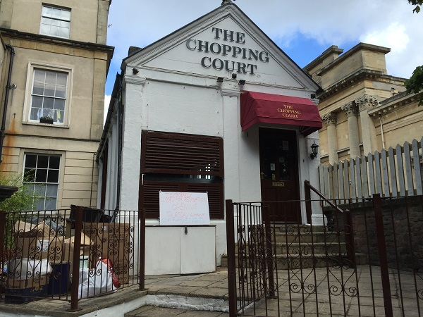 The Chopping Court - Exterior