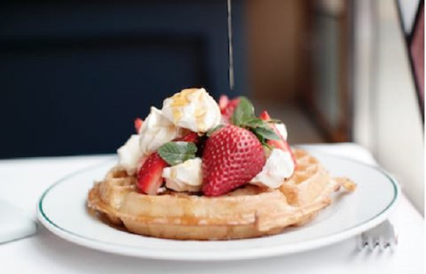 Ivy Clifton Brasserie Waffles