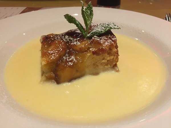 Grosvenor Casino Bristol - Apple and Butterscotch Pudding