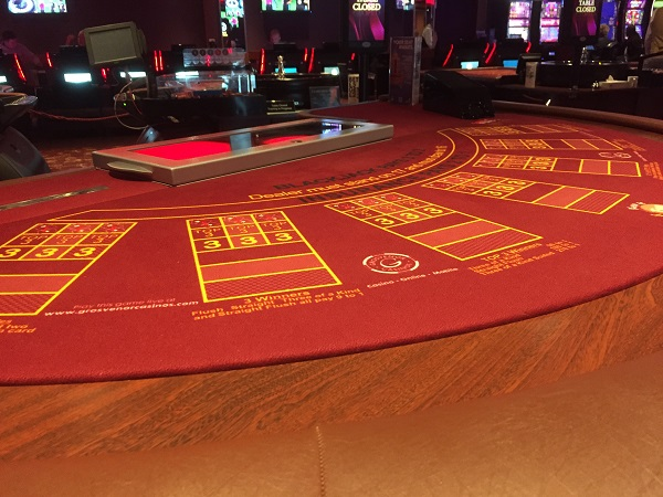 Grosvenor Casino Bristol - Blackjack Table