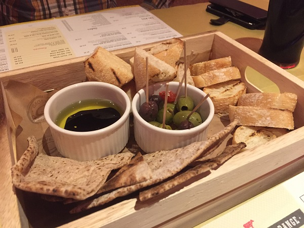 Grosvenor Casino Bristol - Bread and Olives