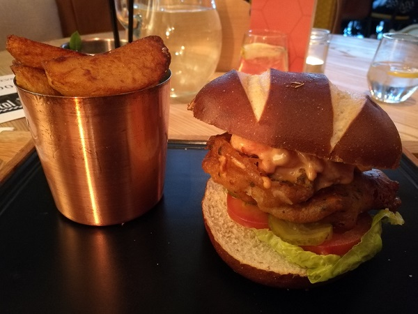 Mercure Bristol Grand - Brixham Burger