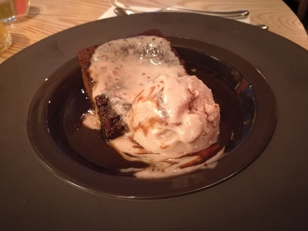 Mercure Bristol Grand - Sticky Toffee Pudding