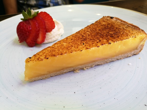 The Jetty Sunday Lunch - Lemon Tart