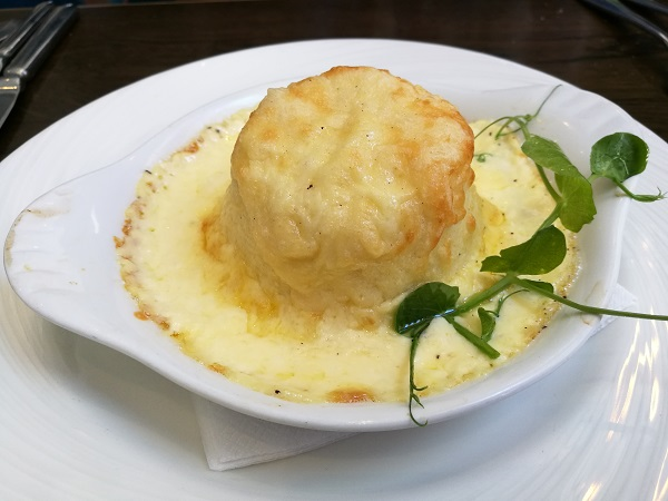 The Jetty Sunday Lunch - Cheese Souffle