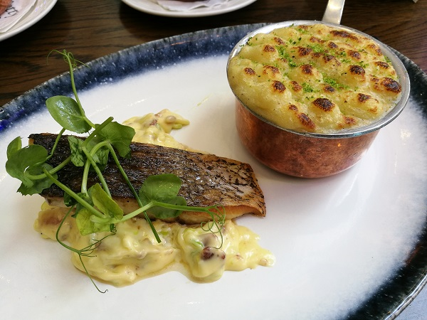 The Jetty Sunday Lunch - Stone Bass