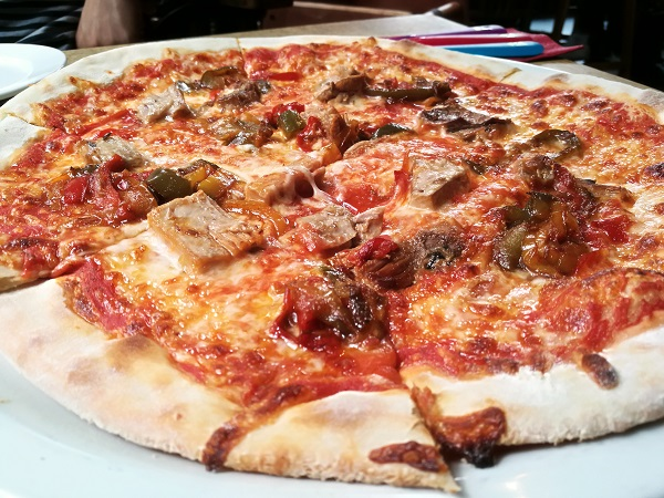 The Grace - Pork Belly Pizza