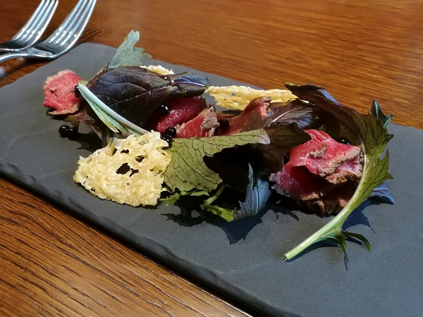 Symonds Restaurant - Beef Carpaccio