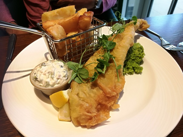 Symonds Restaurant - Fish and Chips