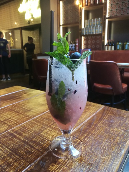 Bar 44 - Blueberry and Mint Crush