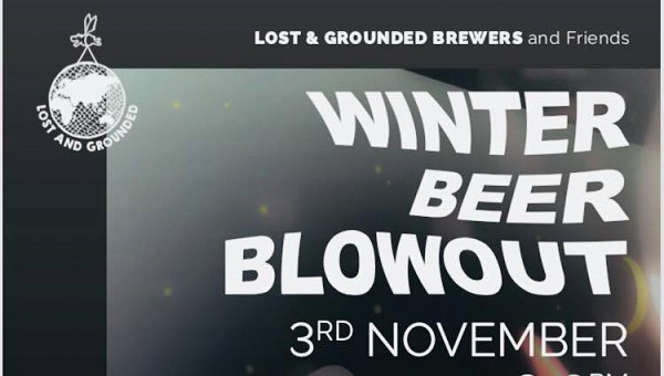 Lost and Grounded Winter Beer Blowout
