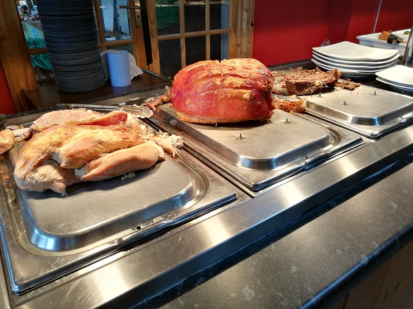 Greedy Goose at Gatcombe - Carvery Meat