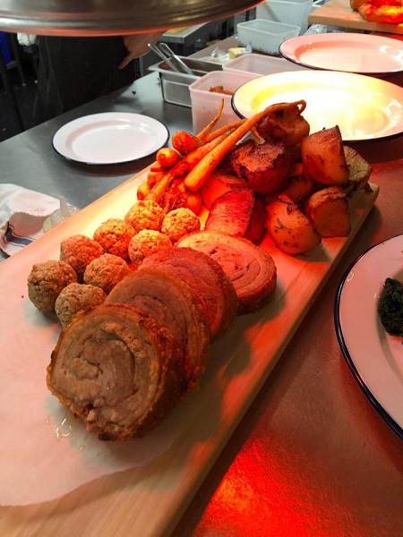 Pigsty Sunday Roast Pork