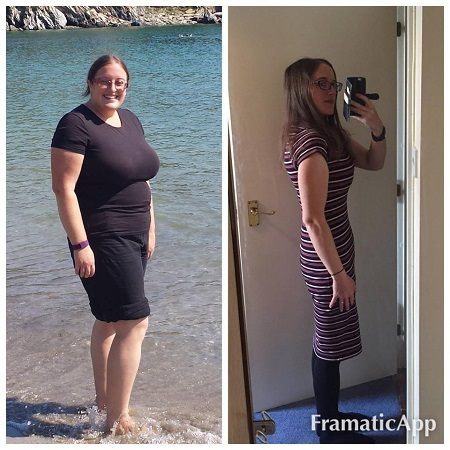 Slimming World - before and after