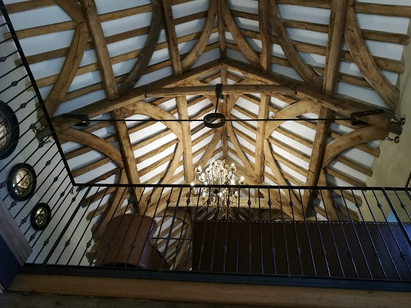 George Inn, Abbots Leigh - Ceiling