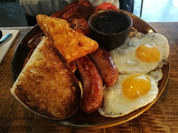 Quay Street Diner Brunch - Quay St Big Breakfast