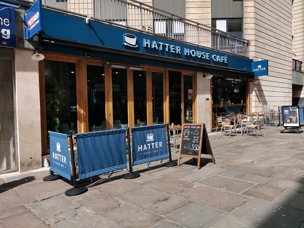 Hatter House Cafe - Exterior