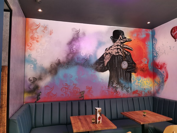 Hatter House Cafe - Mural