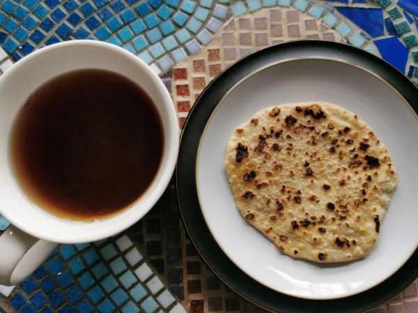 Ration Challenge Day 3 - Flatbread and Black Tea