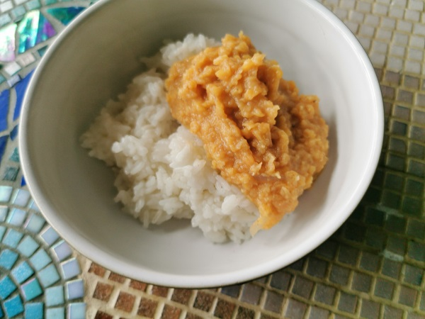 Ration Challenge Day 4 - Plain Rice and Dal