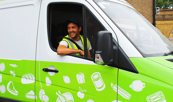 FareShare South West Driver Drive