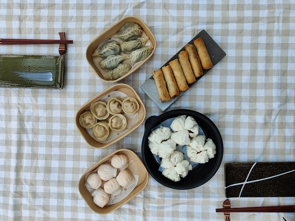 Ping Pong Dim Sum - Served