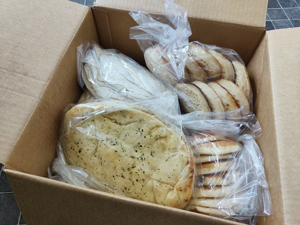 Earth and Wheat bread subscription box - Opened