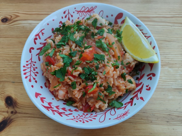 44 Foods Portuguese Seafood Rice - Final Dish