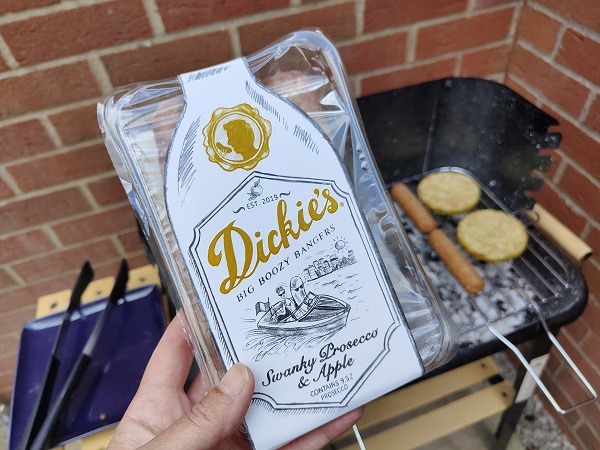 Dickie's Boozy Sausages - Prosecco BBQ