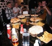 New challenge at Warren's Gourmet Burger Company!