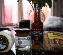 My Foodie Penpals parcel, April 2012