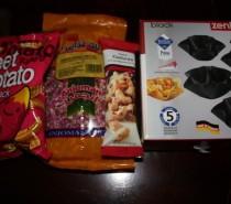 My Foodie Penpals parcel, May 2012