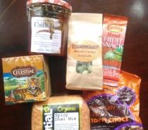 My Foodie Penpals parcel, July 2012