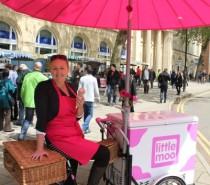 Little Moo ice cream trike hits the streets