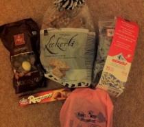 My Foodie Penpals parcel, August 2012