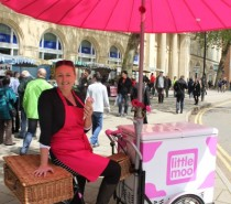 Little Moo Ice Cream Trike to become a regular feature at College Green