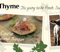 SupperThyme pop up with Tim Maddams: March 22nd and 23rd