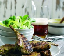 Recipe: Coriander and ginger lamb chops