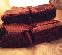 Recipe: Cherry and Amaretto Brownies