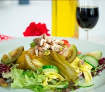Recipe: Chicken and Vegetable Tagliatelle Pasta Salad