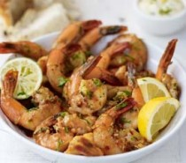 Recipe: Roast Butterflied Tiger Prawns in Lemon and Sweet Pepper Rub with Citrus Mayonnaise