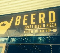 New Beerd pop-up in Clifton until the end of September