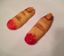 Recipe: Halloween Severed Finger Biscuits