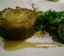 Nose to tail lamb dinner @ Winford Manor: Review