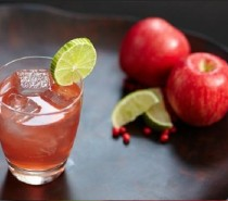 Sloes and apples: two of autumn's favourite flavours